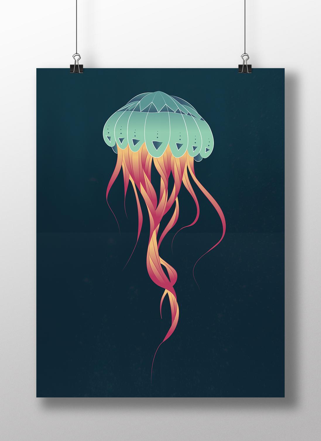 poster meduse